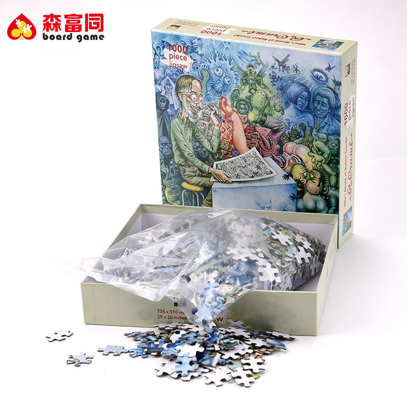 Chine <span class=keywords><strong>Fabricants</strong></span> Personnalisé Imprimable <span class=keywords><strong>Puzzle</strong></span> <span class=keywords><strong>Carton</strong></span> Casse-tête <span class=keywords><strong>Puzzle</strong></span> <span class=keywords><strong>BRICOLAGE</strong></span>
