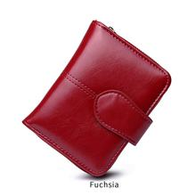 MIYIN Fashion Korean ladies Purse PU High Quality short Design Lady card Wallet Folding coins Zipper women card holders wallet