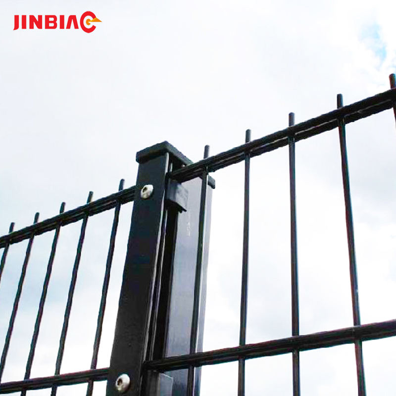 2d double steel wire mesh fence panel factory prices china double fence