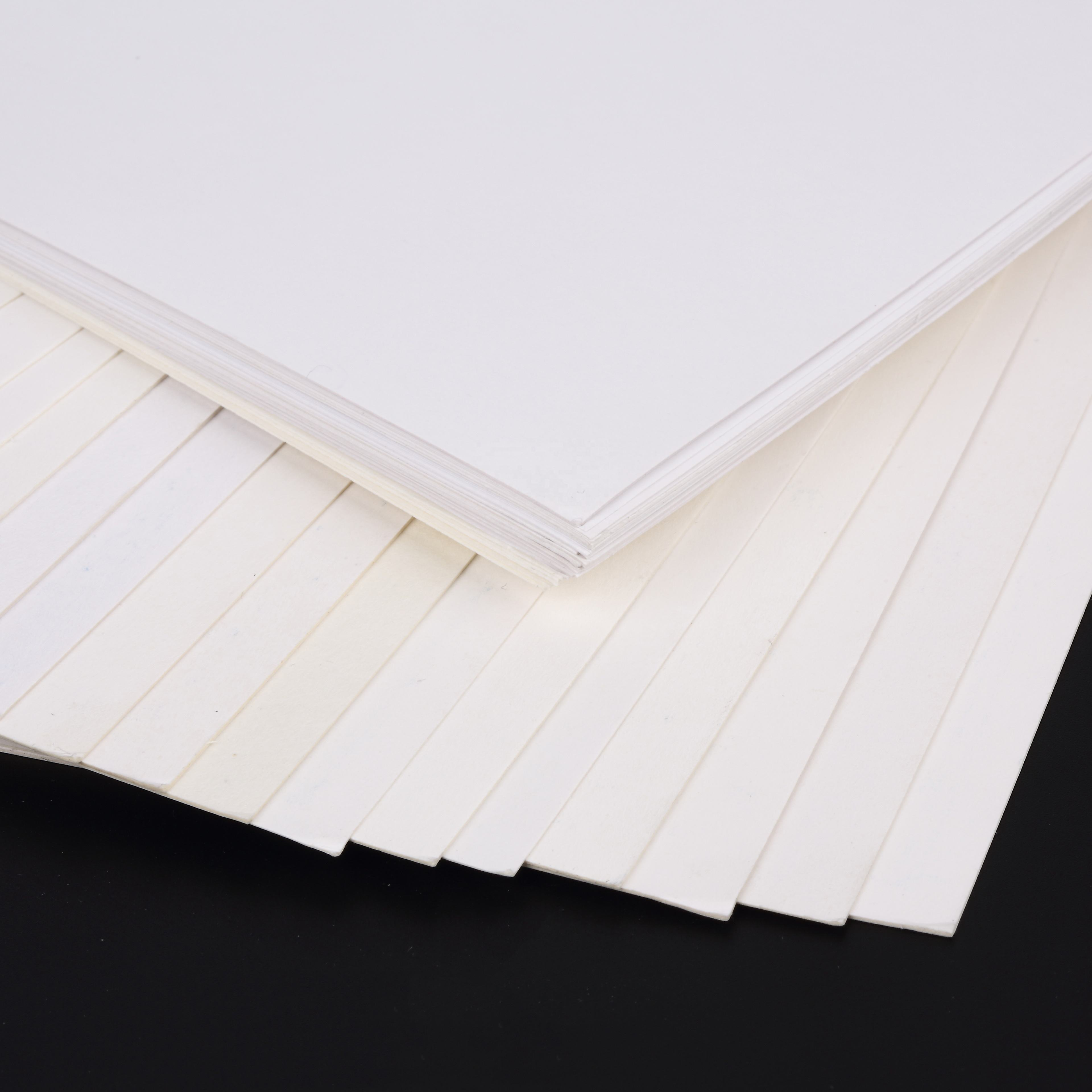 300gsm 350gsm 400gsm Single Side C1s Coated Ivory Board Paper In Rolls Sheets