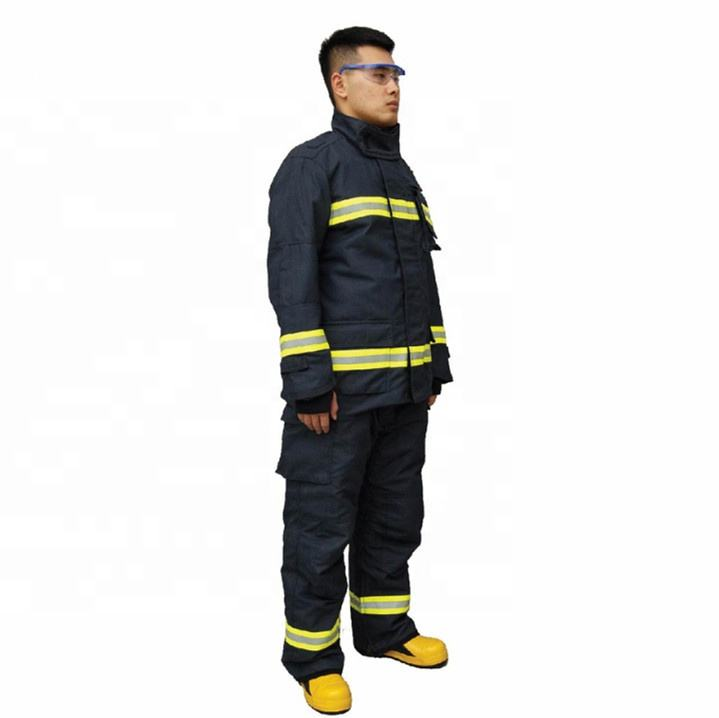 Protection extrême contre les incendies aramide costume uniforme de <span class=keywords><strong>pompier</strong></span> vêtements ignifuges
