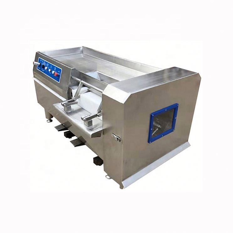 Meat Cutting Machine commercial cold cube chicken 400kg/h frozen automatic beef meat dicing machine chicken cube cutting machine