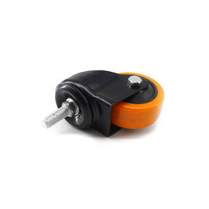 casters for shower cabin 7182-m12*75 mini casters part silicone furniture part for aluminium profile