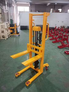 Hydraulic Electric Lifting Platform Stacker