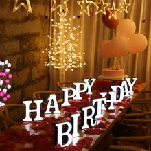 18Cm Led Letter Night Light Marquee Letters Battery Home Wall Decor Party Wedding Birthday Decoration Valentine'S Gift