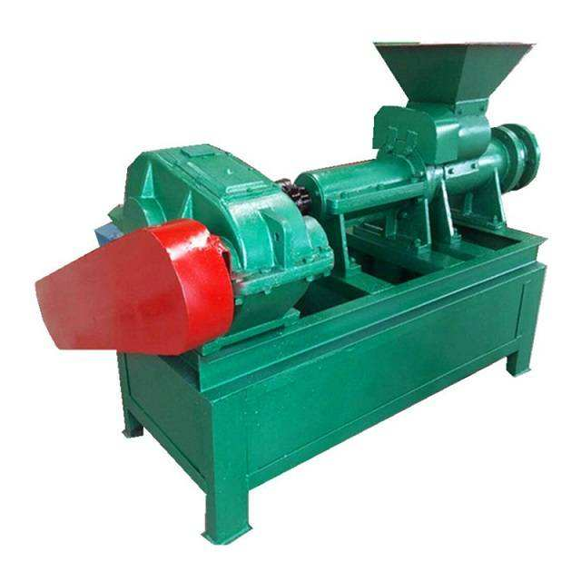 China Supplier Screw Type Bbq Charcoal And Coal Powder Briquette Machine