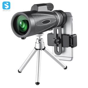 Monocular telescope easy to install 50mm 10X optical zoom