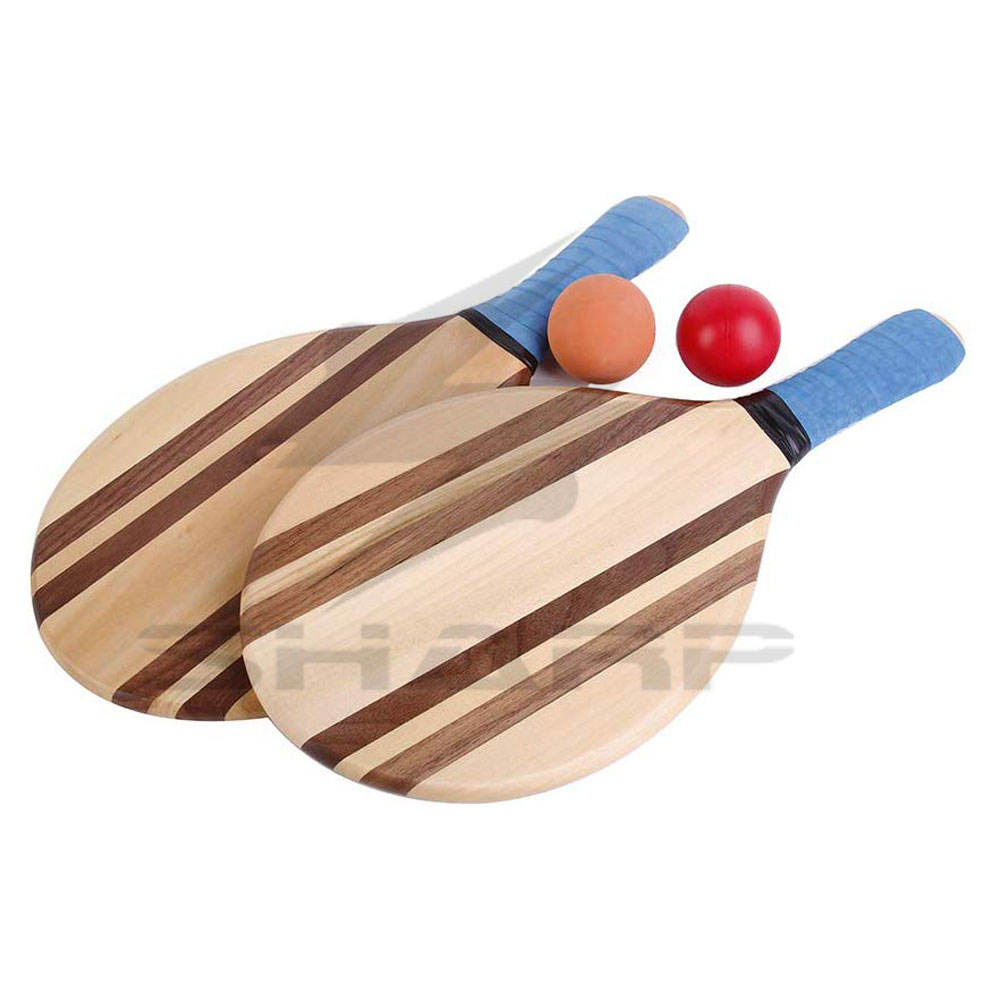 Hot sale Wooden Beach Racket In Reasonable Price Custom Made High Quality Beach Rackets