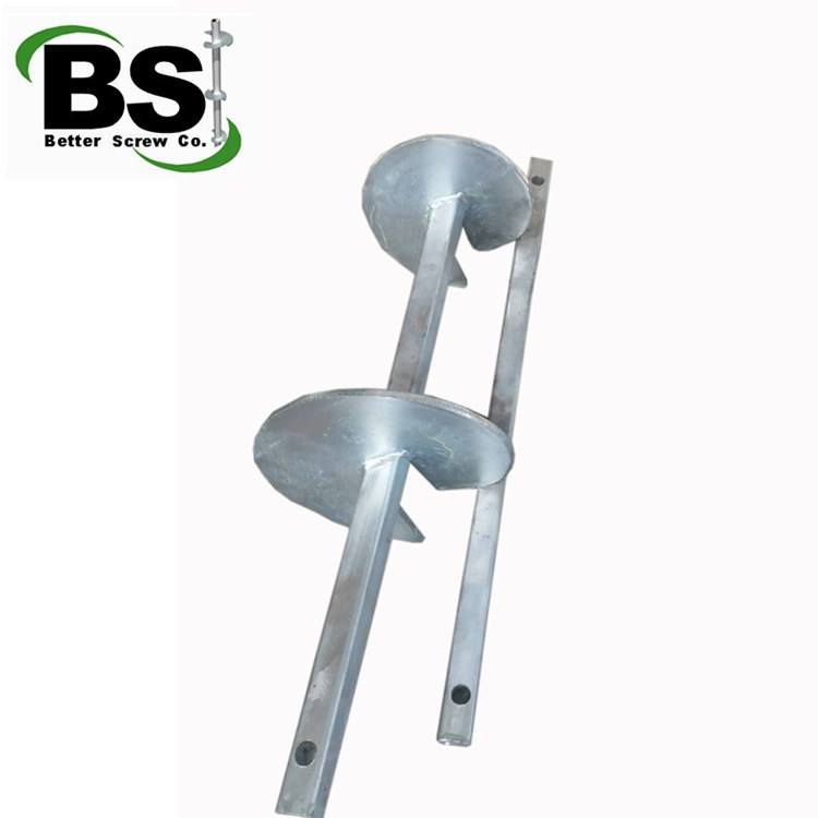 make the old houses strong square shaft helix screw anchor