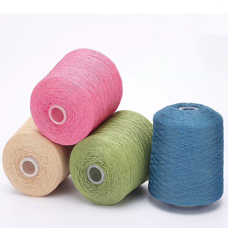 Dyed mohair cotton knitting yarn polyester blend nylon yarn acrylic wool yarn