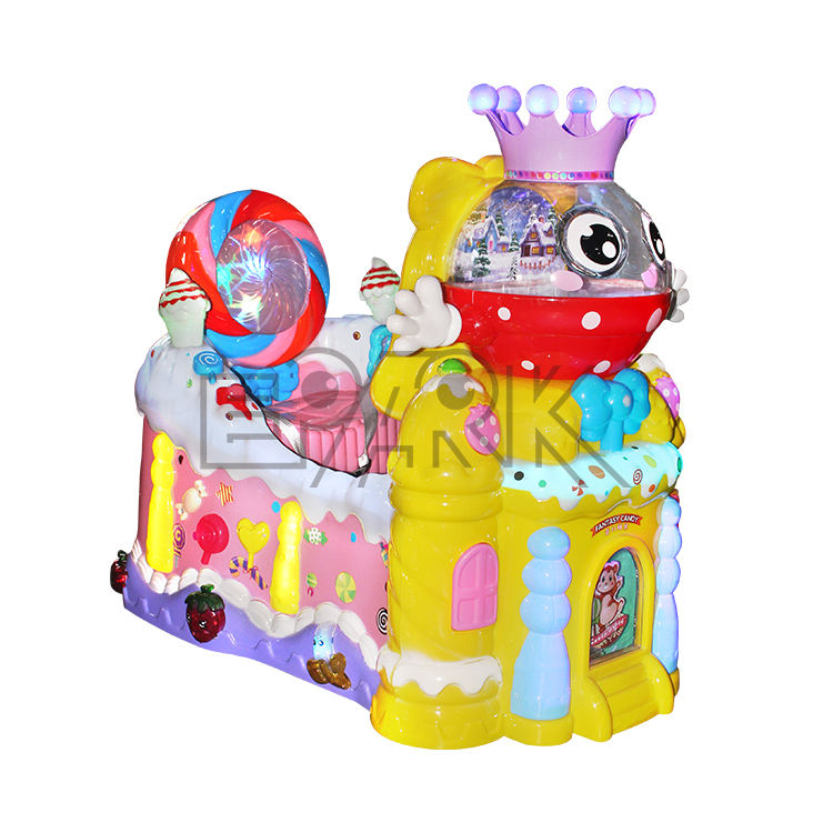 children mall Amusement electronic coin operated swing ride EPARK arcade game machine kiddie rides