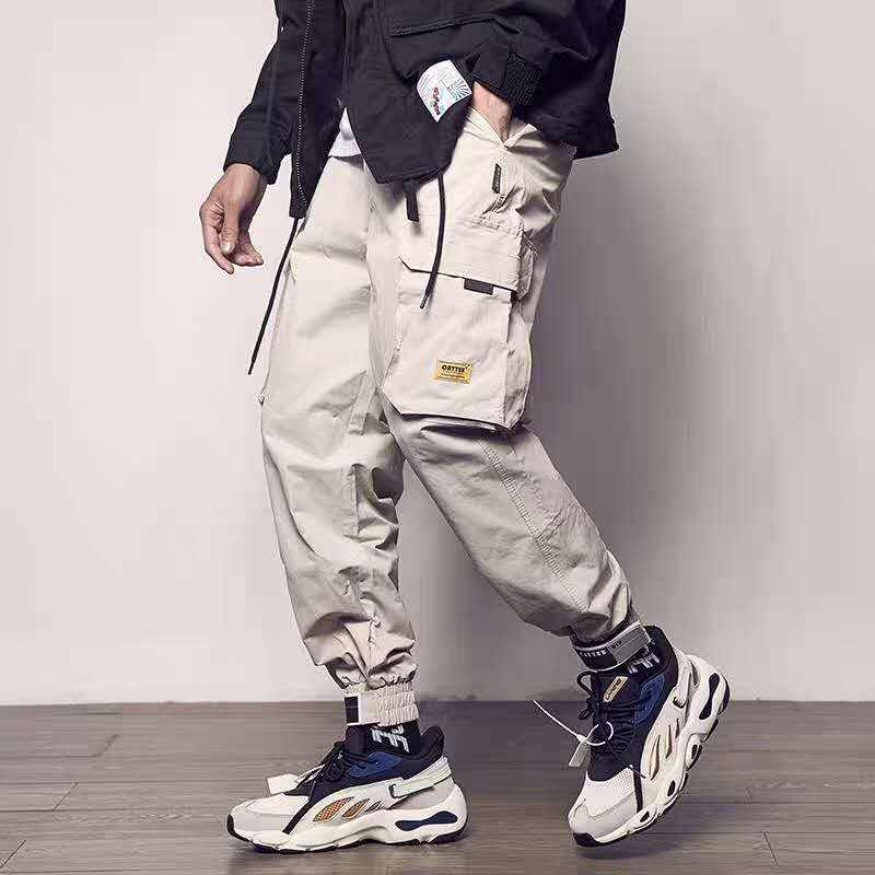 2019 Men cargo pant Multi-pocket Hip Pop Trousers Streetwear Sweatpants Clothing For Pant