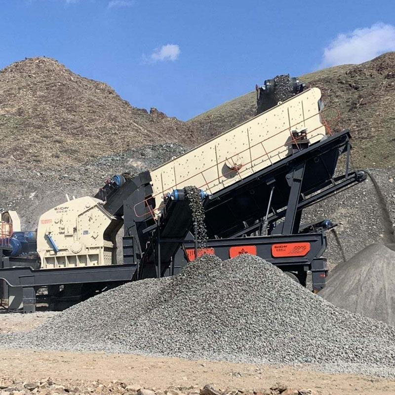 Complete quarry crushing plants, mobile granite limestone gravel jaw crusher, Factory price Aggregate rock stone crushing plant