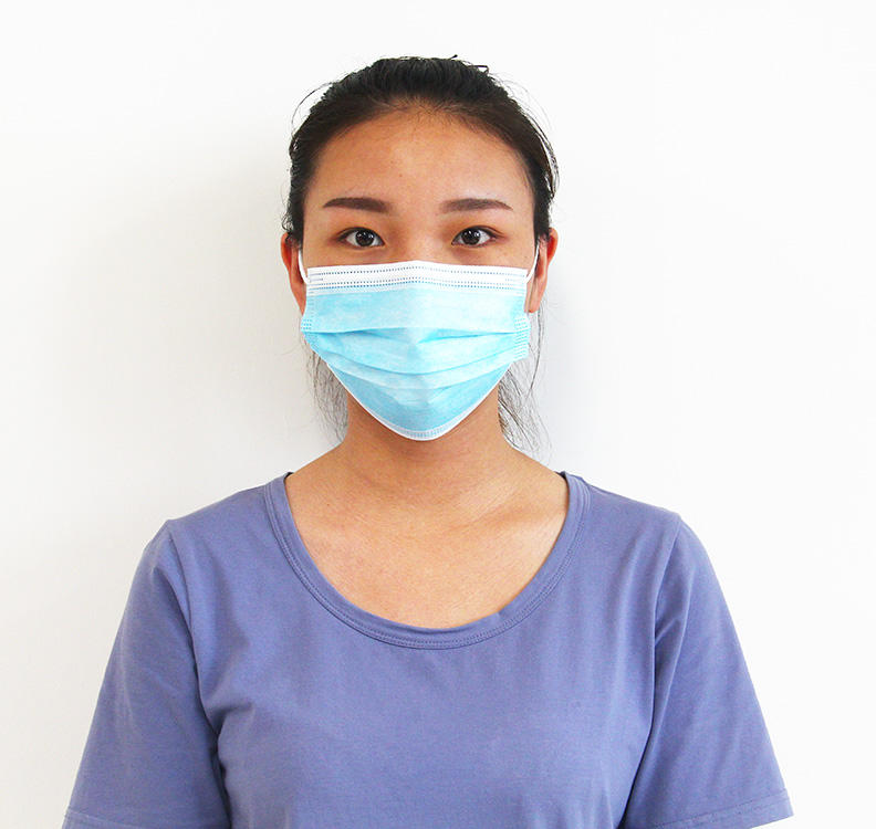 Disposable 3 Ply Earloop Medical Masks Non-woven