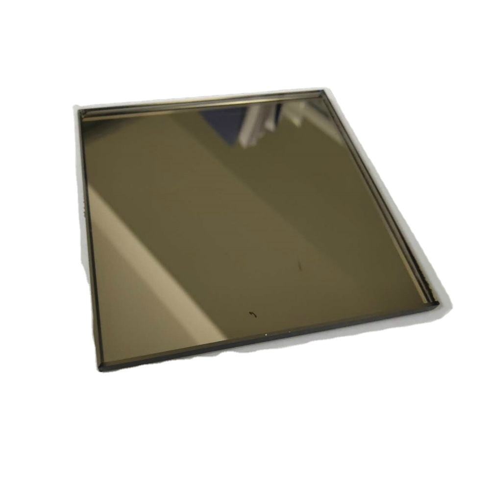 4mm 5mm 6mm colored silver mirror glass or bronze float glass mirror for wardrobe mirrors