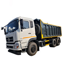 Hot sale Dongfeng brand 6x4 mineral transport tipping truck with new style transport tipping truck