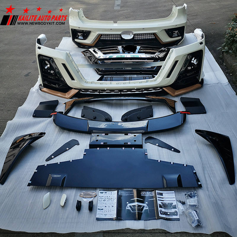 KLT Factory price front and rear bumper Limgene Style body kits for Nissan Patrol y62