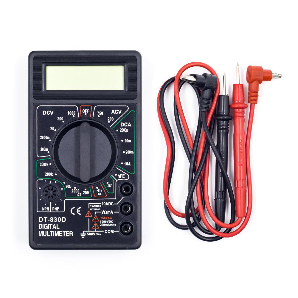 Robotlinking DT-830D Digital Multimeter Electronic Measuring Instrument AC Voltage Detector