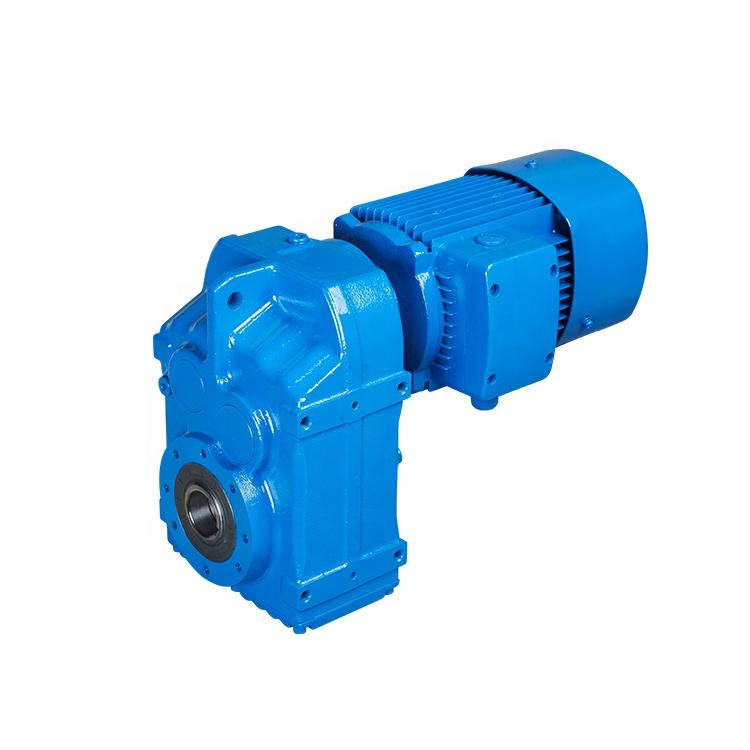 60rpm 3hp horizontal shaft gear motor ac reducer