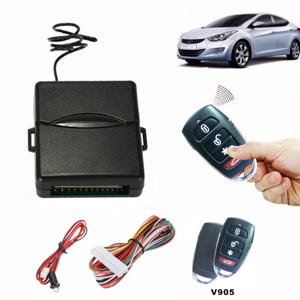 Universal Car Auto Central Kit Door Lock Locking Vehicle Keyless Entry System New With Remote Controllers