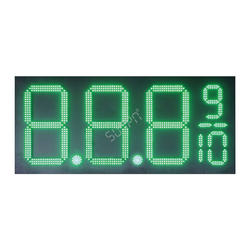 4 Digit 7 Segment LED Display Gas Station Price Sign 8 Inch