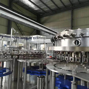 automatic carbonated soft drink beverage making 3 in 1 filling machine for pepsi cola processing line