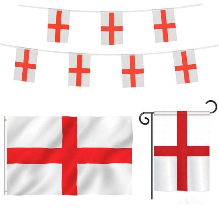 Pas cher Impression St George <span class=keywords><strong>Drapeau</strong></span> Angleterre-5x3 PI-100% Nationaux en Polyester <span class=keywords><strong>Europe</strong></span>