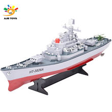 New Coming Rc Boat 3826A 1:250 R/C Battleship High Speed Racing Remote Control For Sale