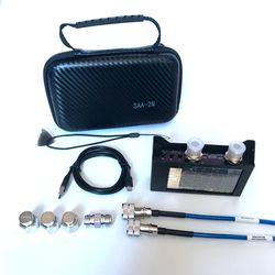 4 inch display SAA2N NanoVNA V2 3GHz 2.2 version 3000mAh battery Vector Network Analyzer HF VHF UHF Antenna Analyzer