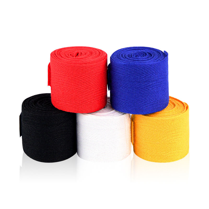 boxing hand wraps boxing hand bandage cotton boxing hand wraps custom printing 5cm width 250cm long pure cotton