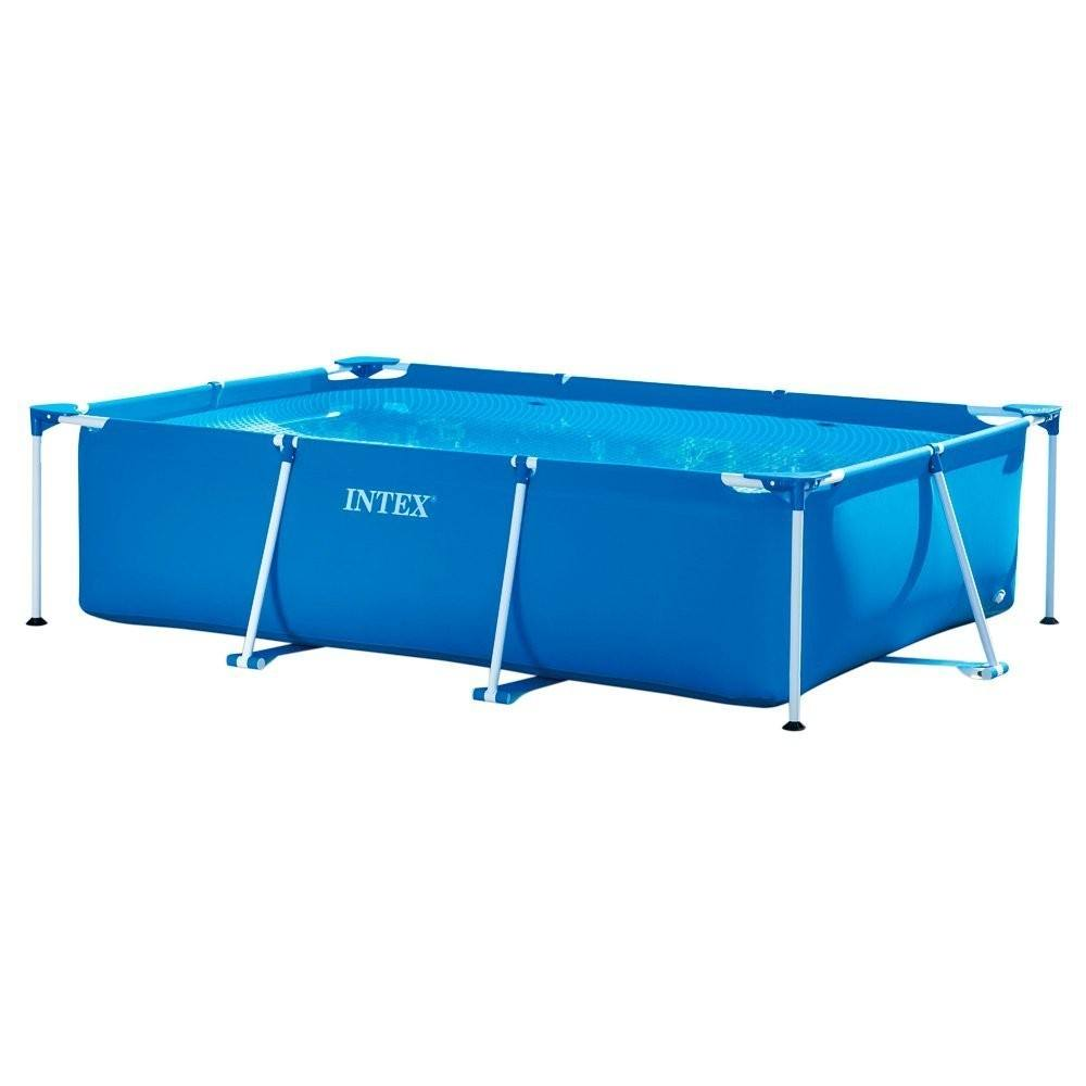 INTEX 28270 2.2m x 1.5m x 60cm intex swimming pool metal frame