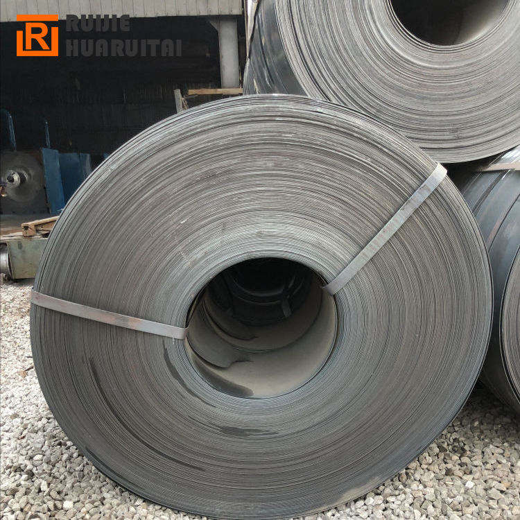 Q235 A36 DX51D+ZA thin spring Black steel strip;Black annealed Steel Metal Strapping/Steel Packing Strip price