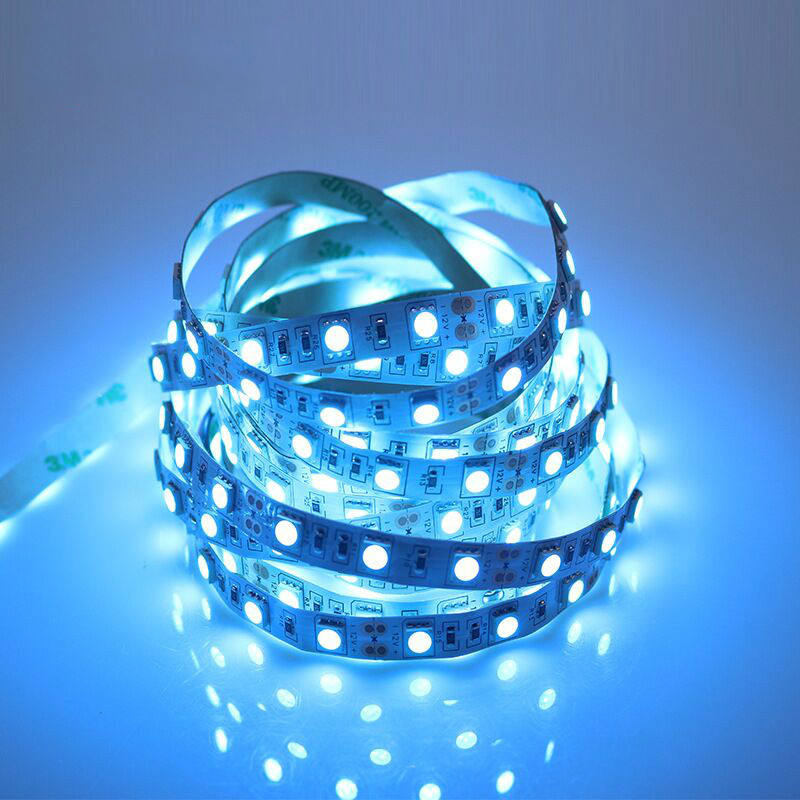 Holiday decorate 5M SMD 5050 Waterproof 300LEDs Blue LED Flash Strip Light ,LED Flexible Ribbon Lighting Strip,12V 60W