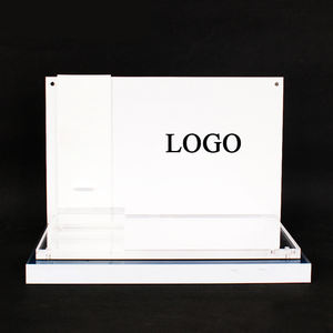 Bespoke Led Acrylic Cosmetic skin care Makeup Display Counters stand