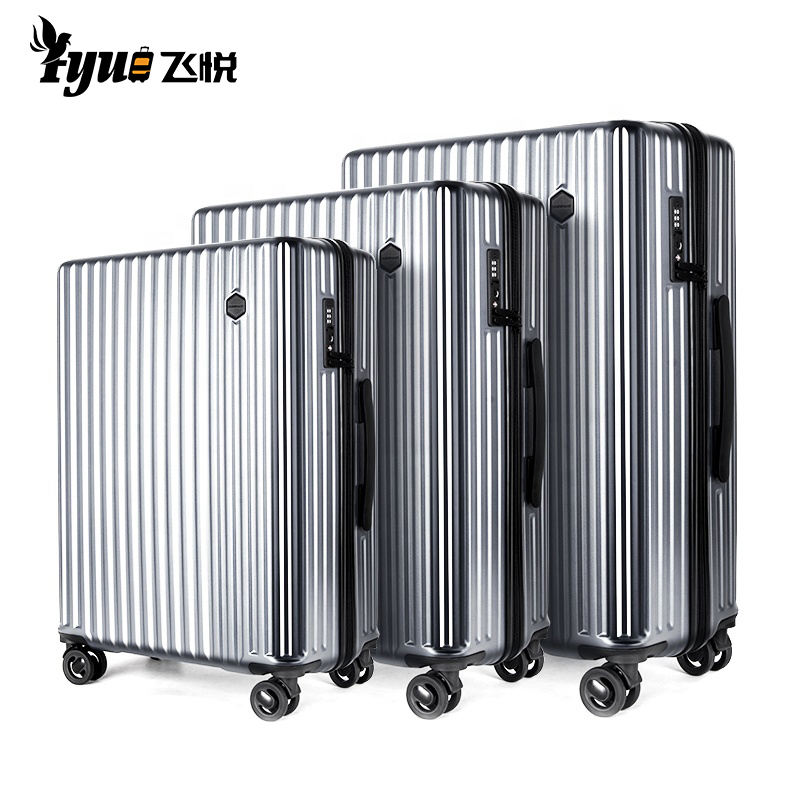 Carry on Travel Carrier Luggage Weight Scale Smart trolley Suitcase luggage sets With USB Charging
