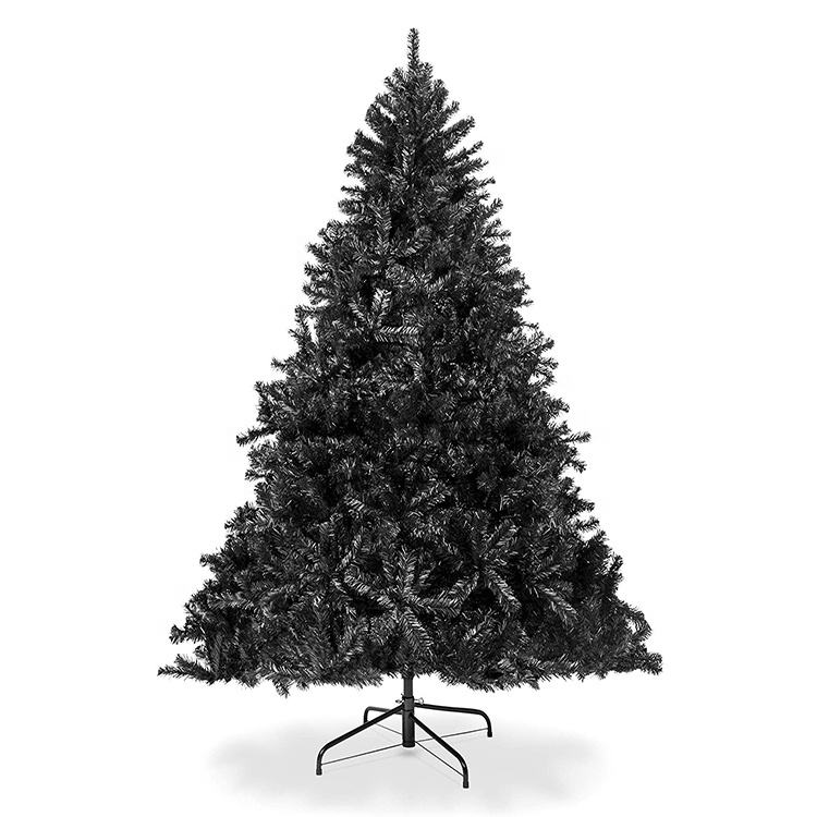 2020 Christmas Outdoor Decoration 6FT Black Christmas Tree Artificial Halloween Tree