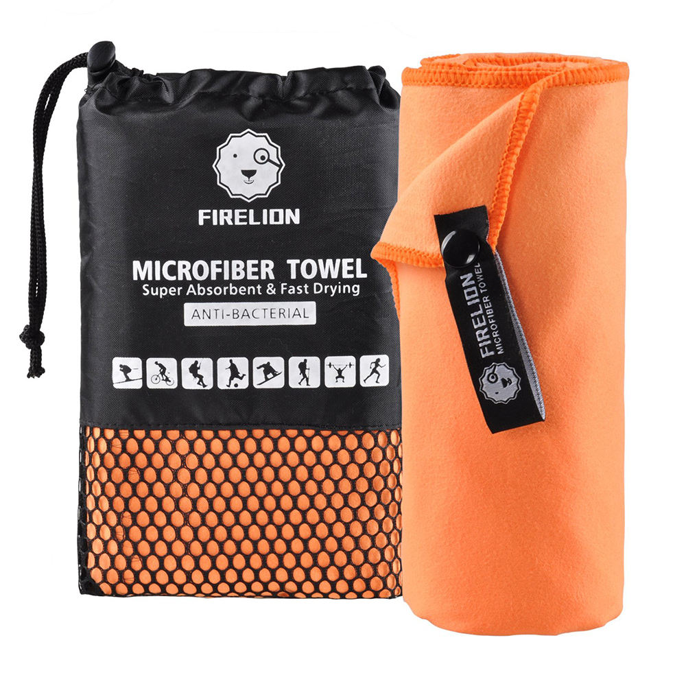 Factory Supplier 100% Polyester Fast Dry Sports Travel Fitness Quick Dry Towels For Gym Wipe Towel