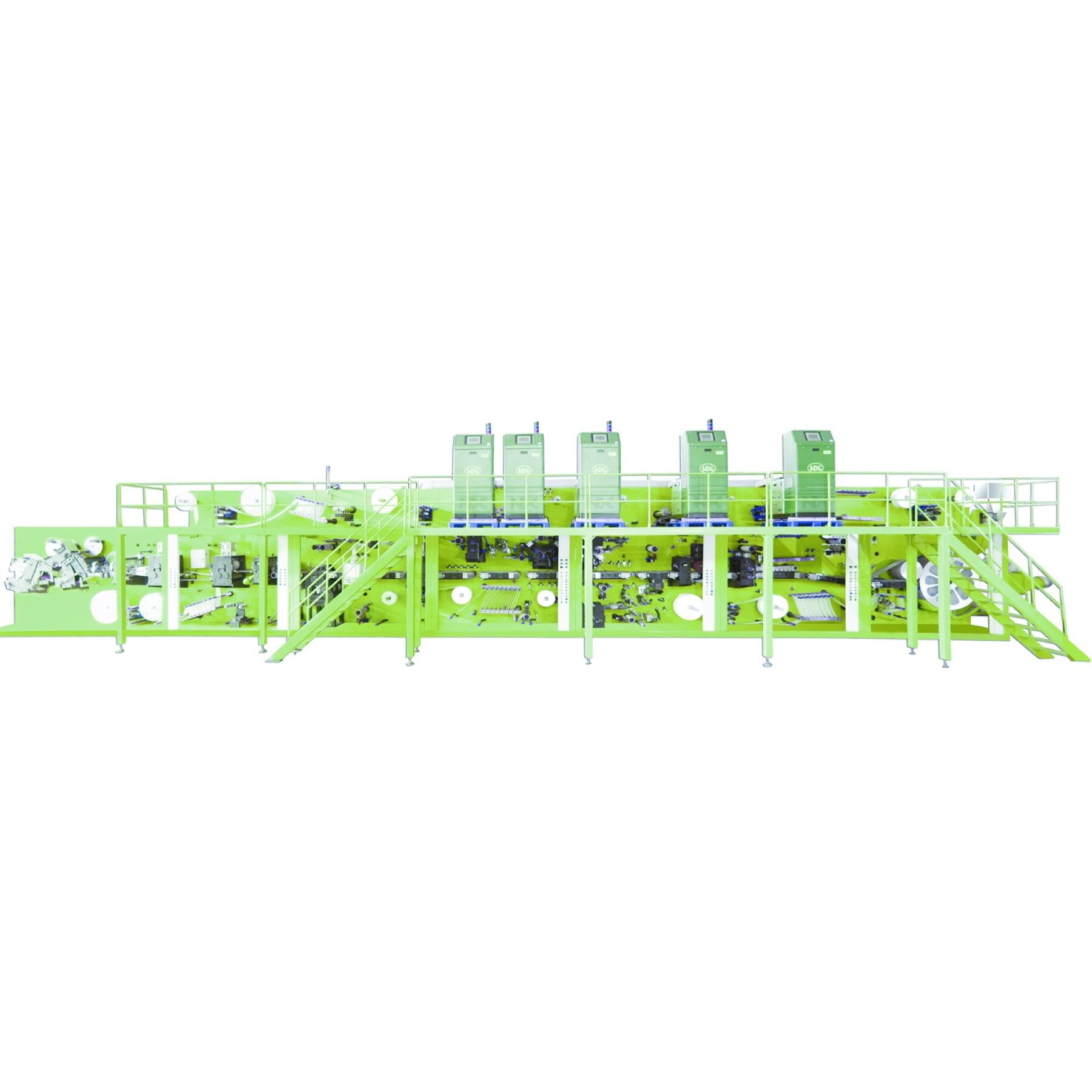 Economic Type I Shape Baby Cloth Diaper Machine Manufacturer Fabricants