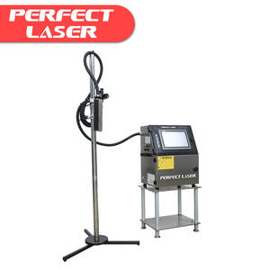 High Resolution Serial Number / Bar Code / QR Code Label Printing Machine