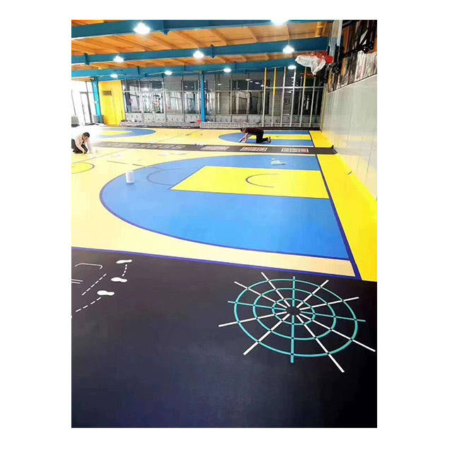Wall Poster Waterproof Background 3d Floor Stickers For Gymnasium