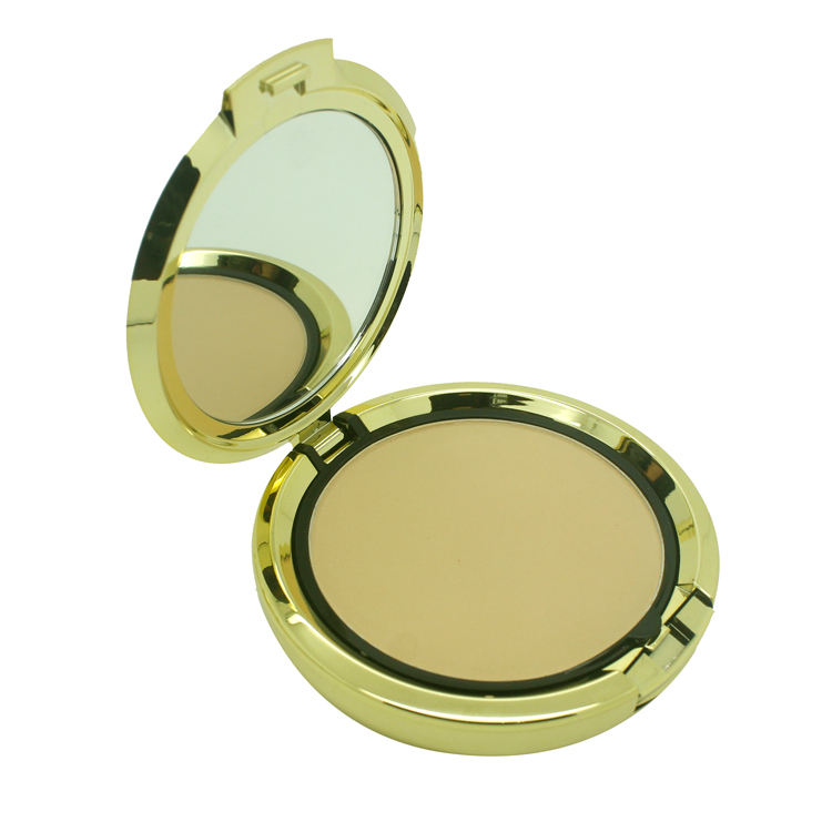Brighten [ Powder Compact ] Powder Compact Powder Silky Smooth Easy Ware Oil Control Long Lasting Low MOQ Face Beauty Cosmeticst Setting Makeup Private Label Powder Compact