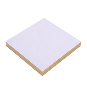 Hot single white MDF melamine 15mm thickness density board