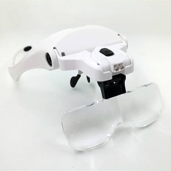 2021 New LED Eyelash Extensions Magnifier Glasses