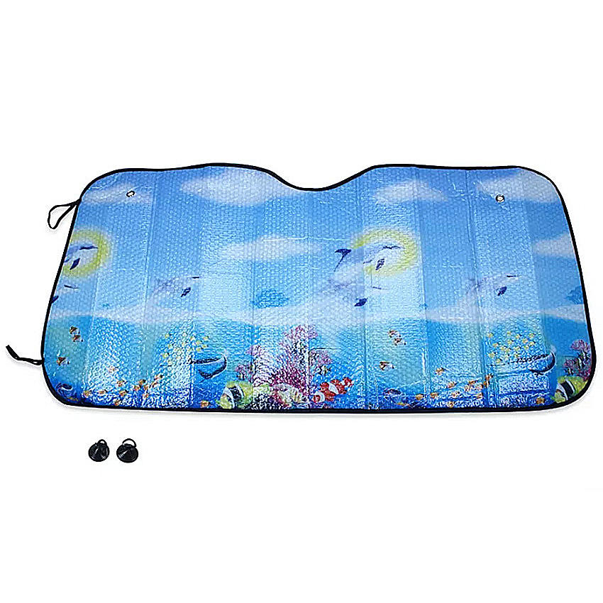 Window Sun Shade Funny Car Windshield Sunshade