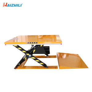 HaizhiLi Handling Equipment Movable 1000kg loading capacity electric lift table hydraulic