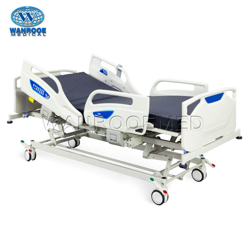 BAE503 ABS Panel Hospital Electric ICU Patient Bed Price in Japan with Five Functions