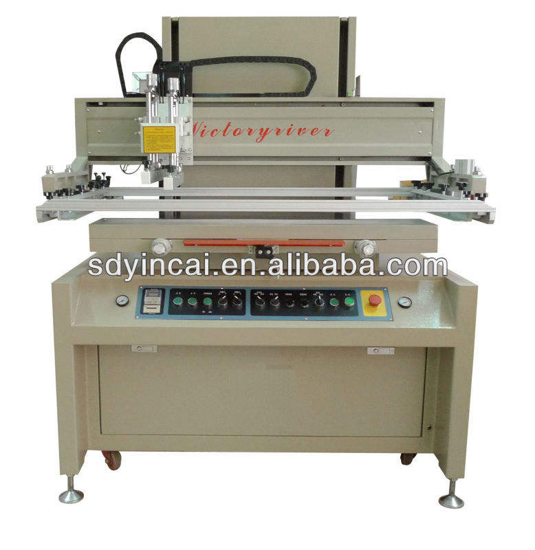 2019 New Design Silk Screen Printing, Serigrafia Printing Machine with Vacuum Table for Water Slide Transfer Printing Equipment