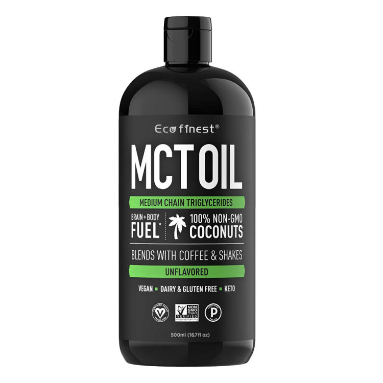 Amazon Hot Selling Organic Coconut MCT Oil