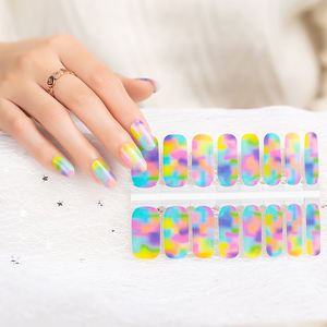 Commercio all'ingrosso nail wraps fai da te per la nail art sticker involucri del chiodo di scintillio di arte all'ingrosso di vendita sticker