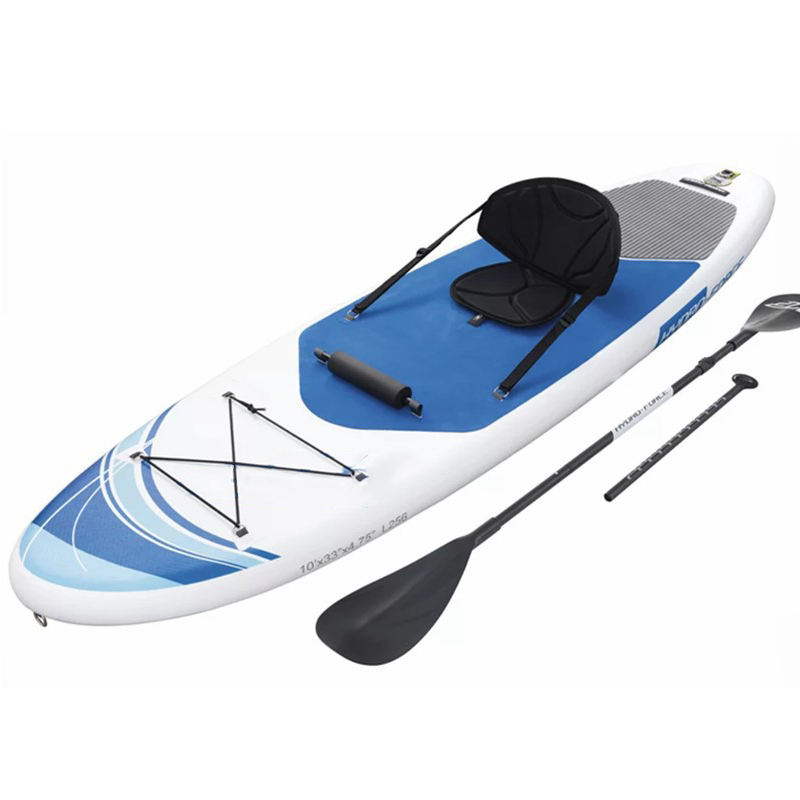 Rescue Surfboard Inflatable Stand up Paddle Boards, Inflatable Surfboard Sup Fishing Paddle Board With Paddles Chair Bag Pump